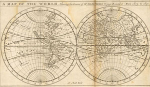 大航海時代の航海図 - Word Map of 17 centuries