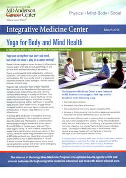 Integrative Medicine Center, MD Anderson Cancer Center