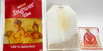 Ingwer Tea Bag for German Package