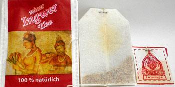 Ingwer Tea Bag for German Package