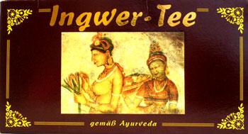 Ingwer Tea German for Package