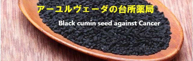 ■アーユルヴェーダの台所薬局(ブラック・クミンシードの抗ガン作用)