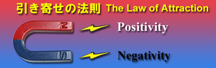 ■ 引き寄せの法則 (ネガティブを引き寄せない方法) Breaking the Habit of Attracting Negatives based on The Law of attraction