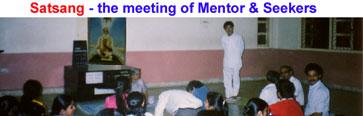 サットサンガ:精神的指導者(メンター)と学習者(シーカー)の公開討論の勧め