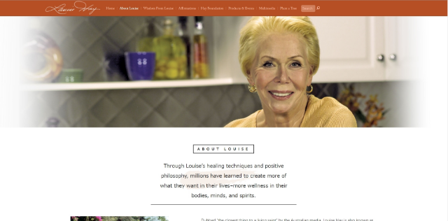 Louise Hay, 1926-2017