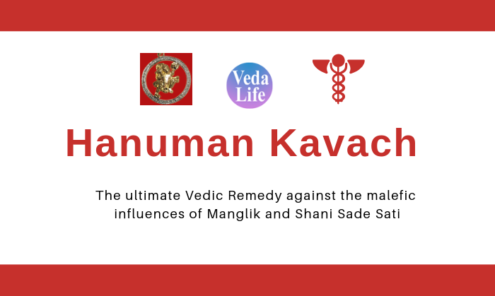Hanuman Kavach is an ultimate Vedic remedy against the malefic influences of Manglik and Shani Sade Sati